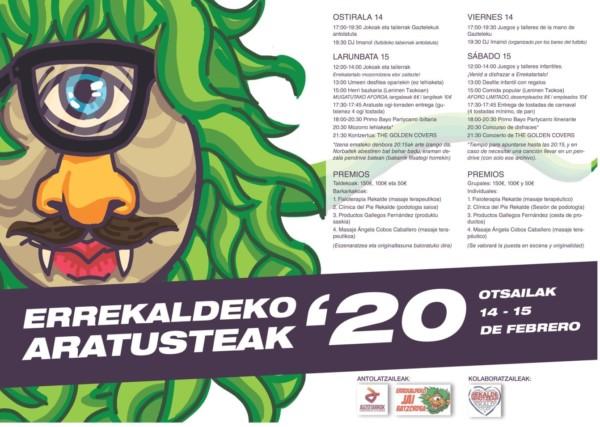Errekaldeko inauteriak 2020 Carnavales de Rekalde