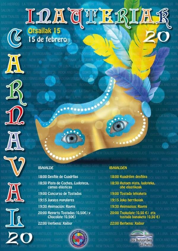 Ibaialdeko inauteriak 2020 Carnavales de Ibaialde