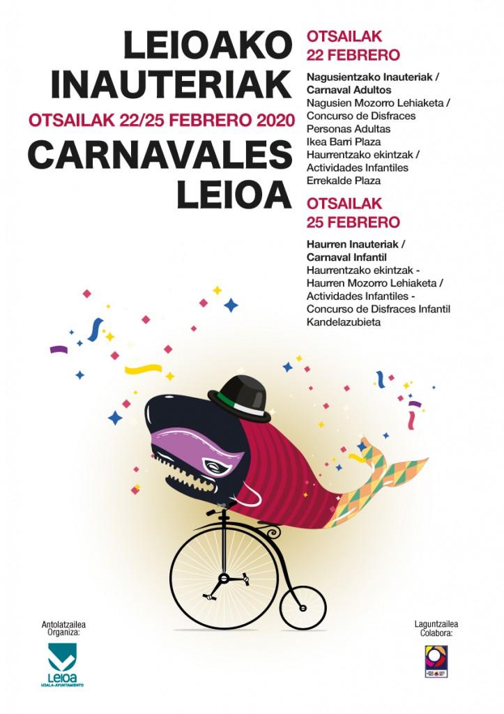 Leioako inauteriak 2020 Carnavales de Leioa