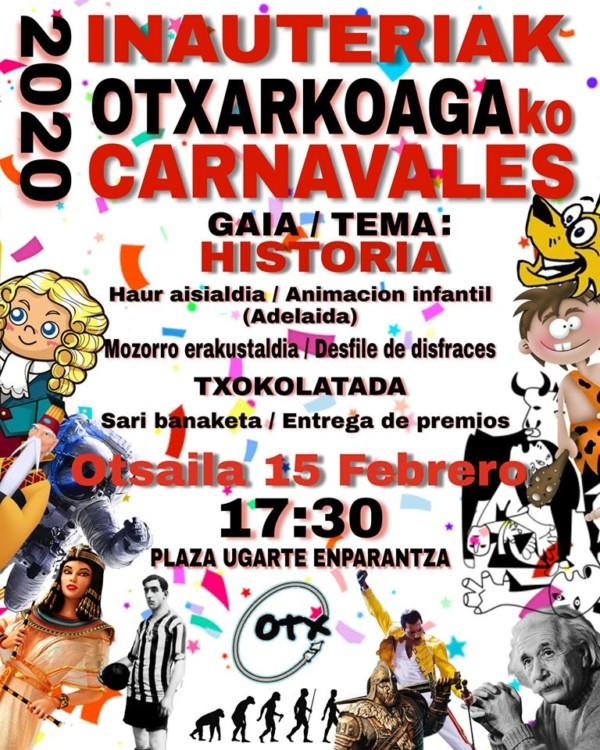 Otxarkoagako inauteriak 2020 Carnavales de Otxarkoaga