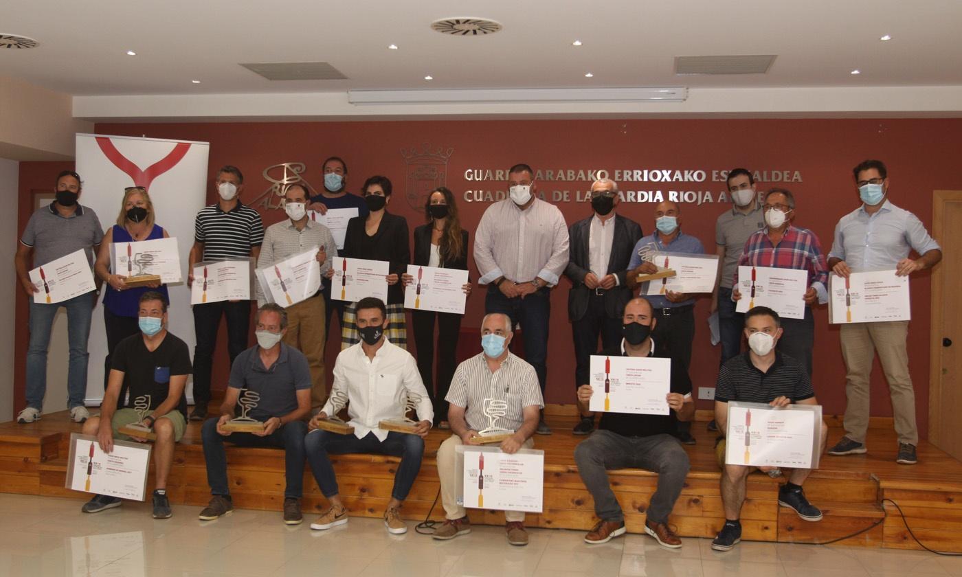 Premiados en la 37 edición del Concurso de Vinos Fiesta de la Vendimia