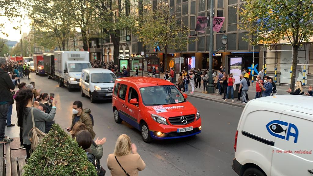 Manifestación por la hostelería | Ostalaritzaren alde manifestazioa